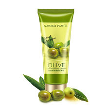 GMP Factory price natural olive oil facial cleanser face wash for oily skin