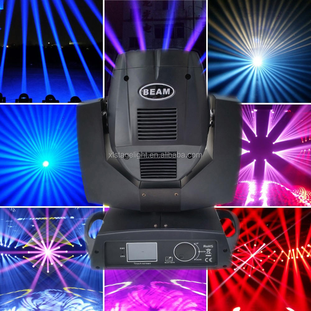 China Markt India Prijs Beam Rotary Stage Light Moving Head Hemel Beam 7r 230 W Beam 200 Moving Head