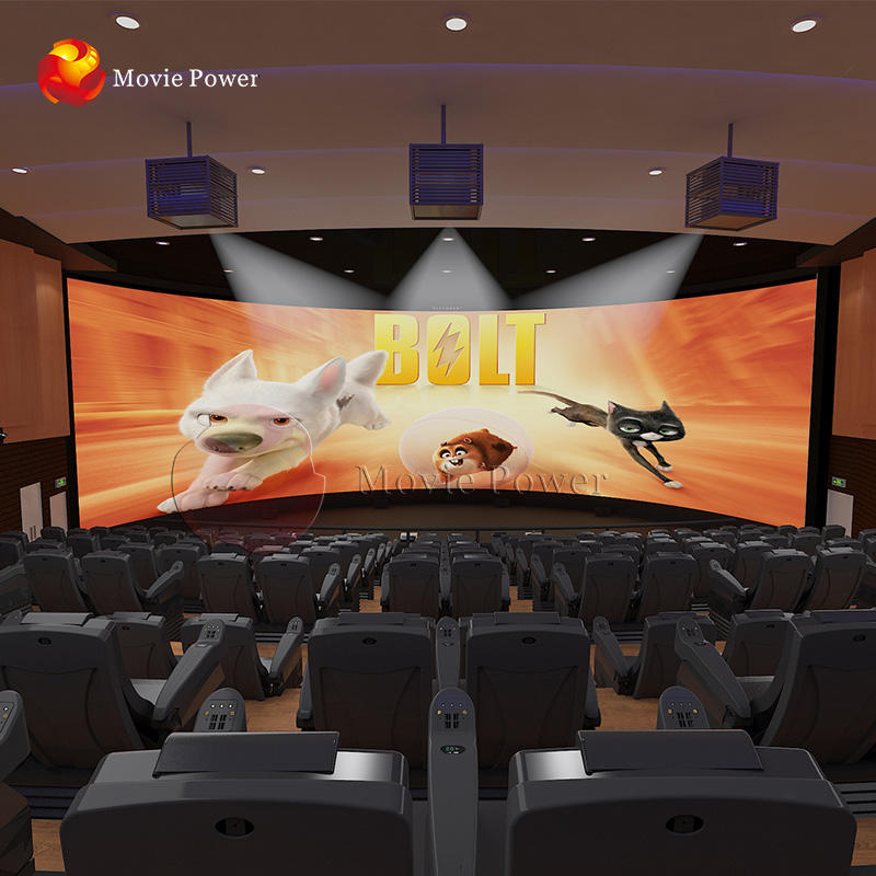 4d 5d Cinema Equipment 200-300 Seats Fashionable 4d Movie Cinema Chairs 5d Cinema 5d Theater Equipment For Sale