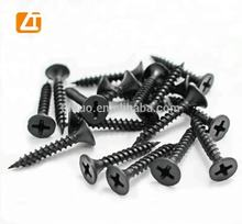 Sale on line black/gary drywall wood screws from Tianjin China