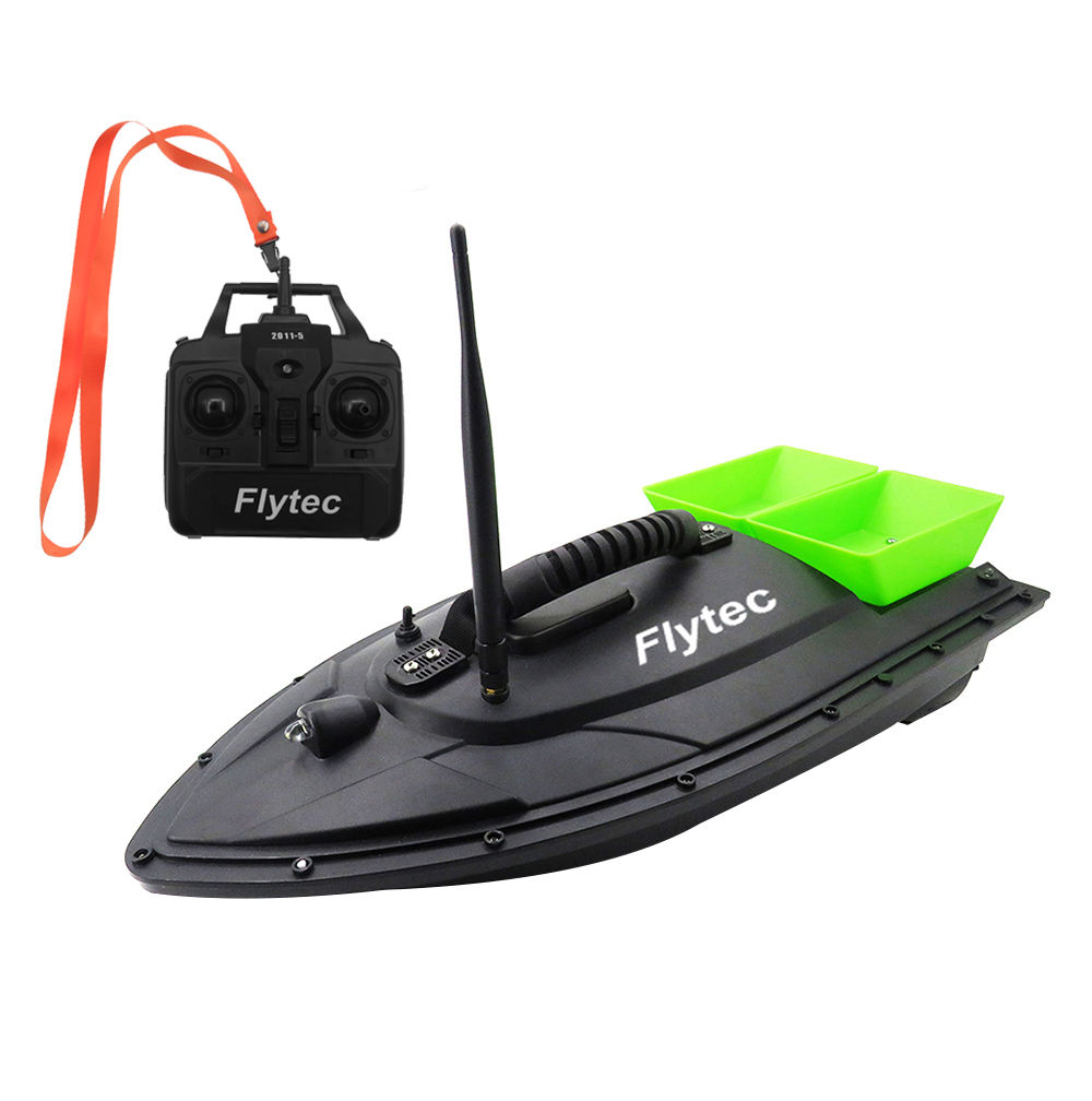 Flytec 2011-5 RC Fishing Bait Boat Hull KIT Set With Electronic Accessories Parts Full Set For DIY Repair Or Remodel