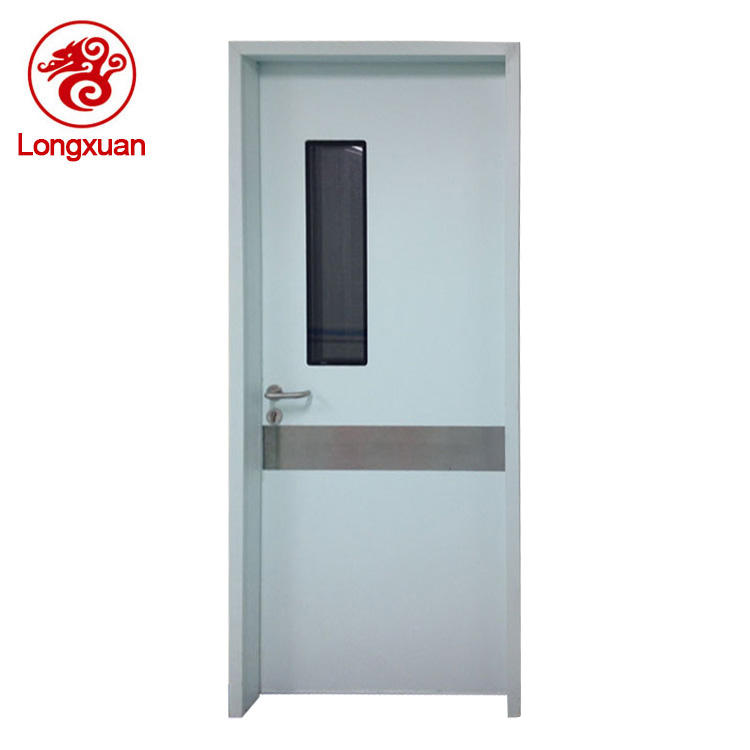 New design gastight single hospital medical room door