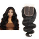YF Remy Hair Series Brazilian Body Wave Closure Swiss Lace Middle Part Human Hair Lace Closure 1 Piece