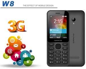 Бесплатный мобильный телефон образцы 1.77 дюймов сотовый телефон Новое поступление 3 г функции телефона