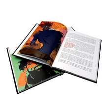Well designed full color cheap custom hardcover book printing