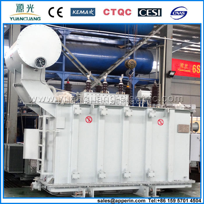 2500kVA 66KV electric Power Transformer