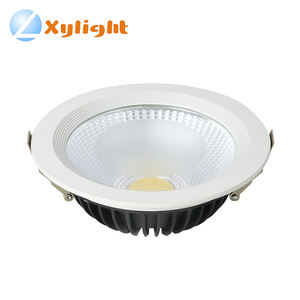 Down lamp lighting dimmable saa 20w round recessed cob led downlight kit