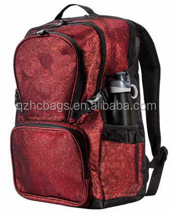 New Fashion Sparkle Glitter Rugzak Met Laptop Compartiment <span class=keywords><strong>Cheerleading</strong></span> <span class=keywords><strong>Tas</strong></span>