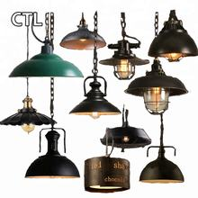Restaurant Retro Chandelier Lights Furniture Matching Kitchen Rustic Iron Industrial Loft Vintage Pendant Lighting Lamp