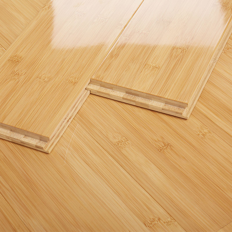 T&G Click Joint and Charcoal Surface Treatment Horizontal Bamboo Flooring/ Bamboo Flooring Skirting