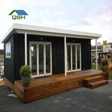 house prefab modern/french granny tube/sandwich panel prefab home 40ft fully furnished shipping container home for sale in usa