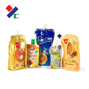 Various size beverage packaging bag food and for products