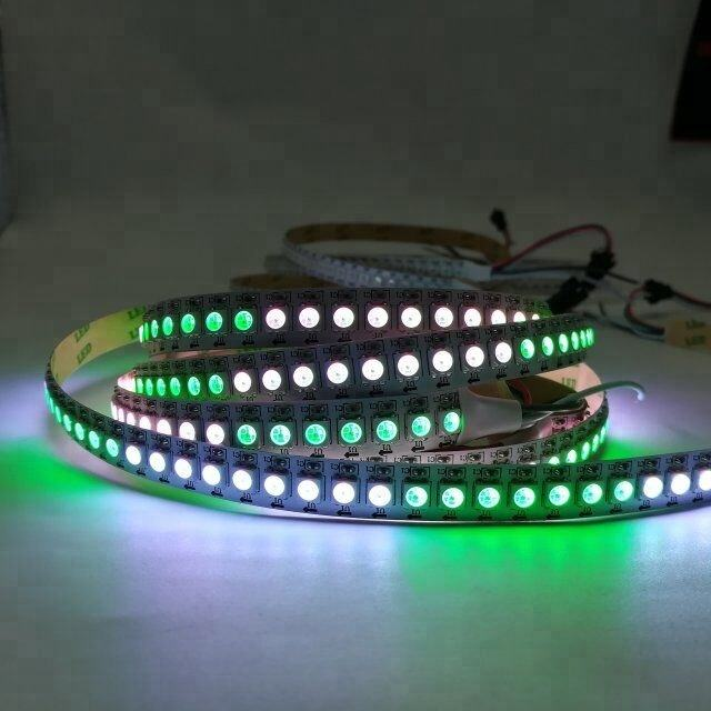 2812 ic 5050 led strip 144 leds rgb strip licht, smd 5050 tape licht/lint band/led ketting magic dream kleur verlichting