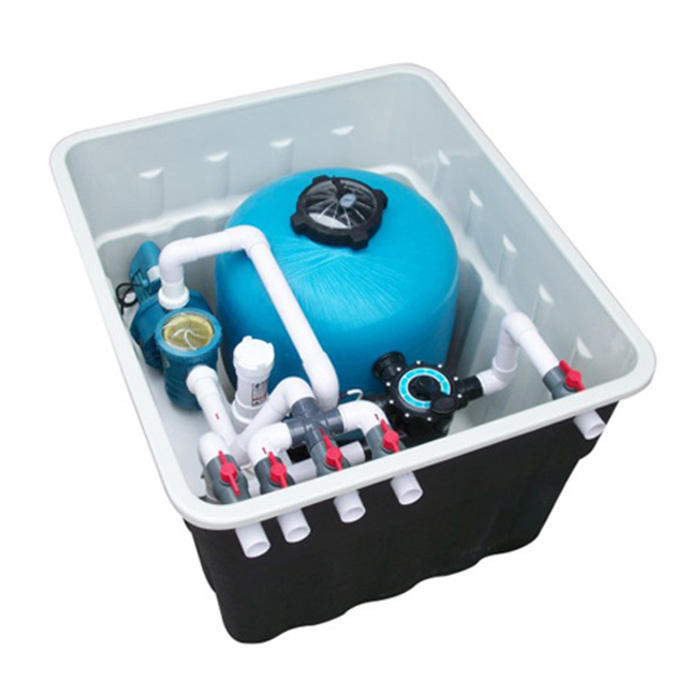 skimmer polyester pool filter equipment used swimming pool bag filter