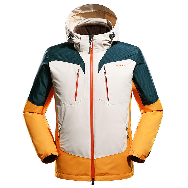 Snow Mountain Jacket Two Piece Men's Winter Waterproof Ski Suit