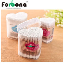 Double head box packed cotton buds