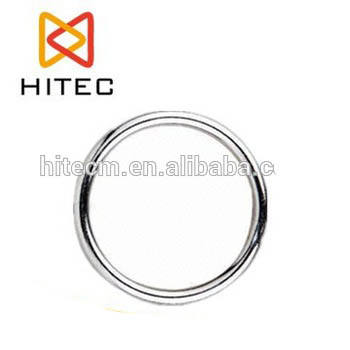 AISI 316 Stainless steel welded round ring cheap stainless steel rings made in china rigging hardware