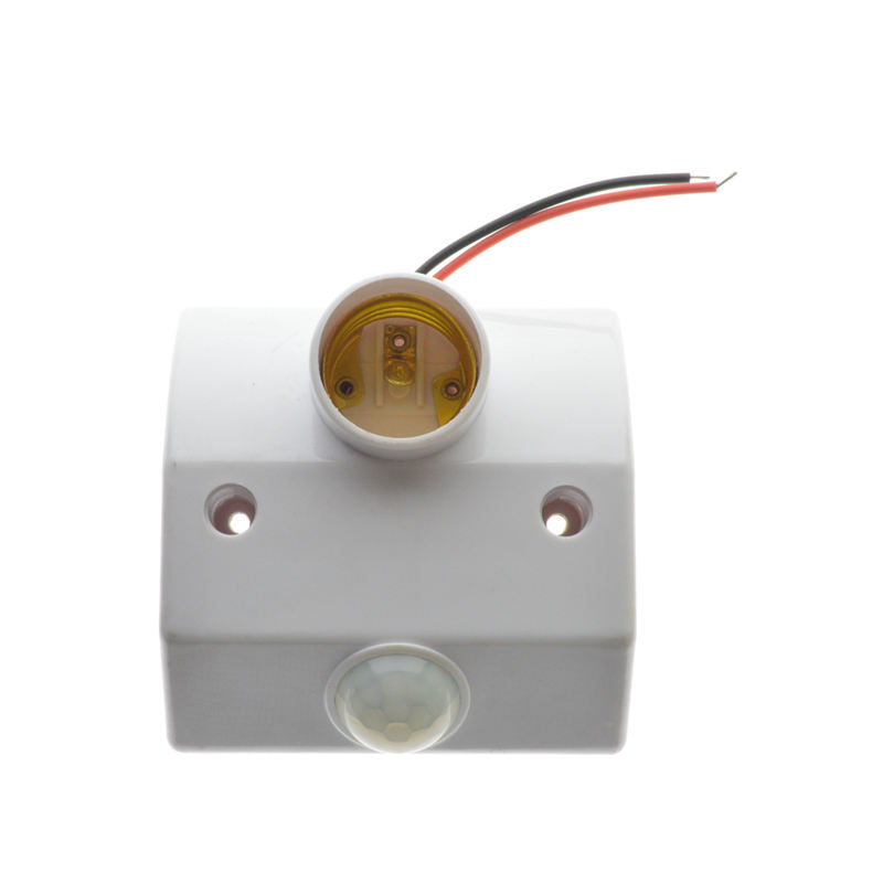 E27 AC220 50/60Hz Infrared MOTION SENSOR Switch Intelligent Light Motion Sensor Lampu Otomatis Dudukan Lampu Switch dengan sekrup