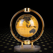 christmas gifts  crafts  business gifts Speaker music world rotating  magnetic floating levitation globe