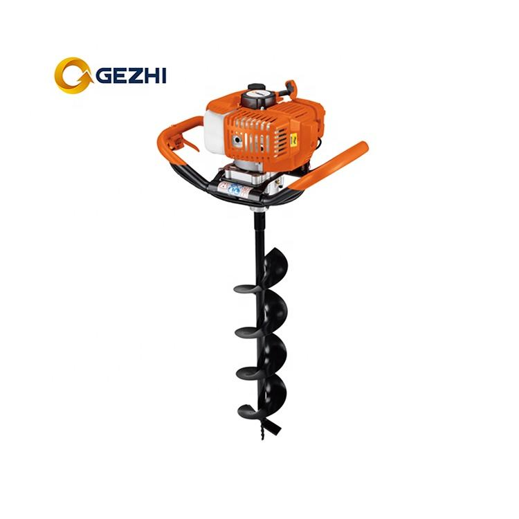 2 stroke 1e44f-5 earth auger tree planting machine
