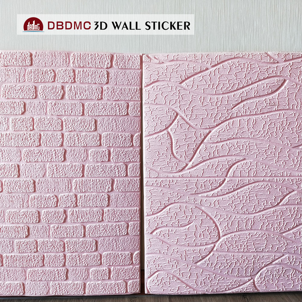 Easy clean 3D wall sticker PE foam material for home decor