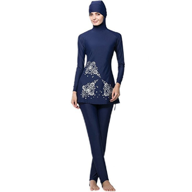 Sexy Women Swimsuit Muslim Swimwear