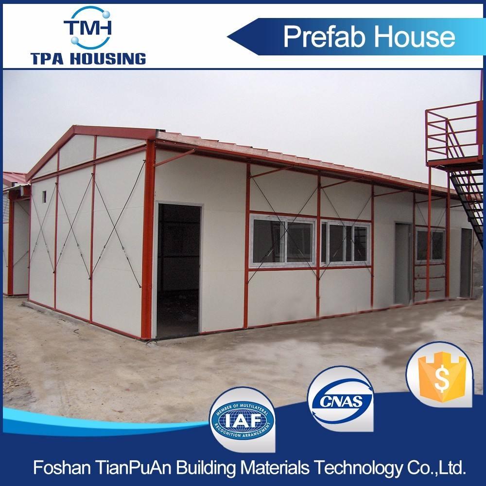 工場直接価格oem/odmプレハブ住宅インストール上コンクリート床