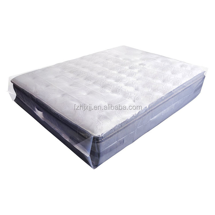 Plastic Cover Protector Thick Reusable vacuum bag for foam mattress