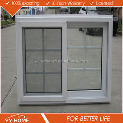 YY home plastic windows casement windows UPVC windows