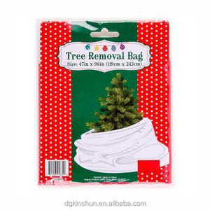 new arrival disposable Christmas tree storage topper bag