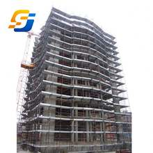 Manufacturer Factory Hotel Building High Rise Steel Structure Construction