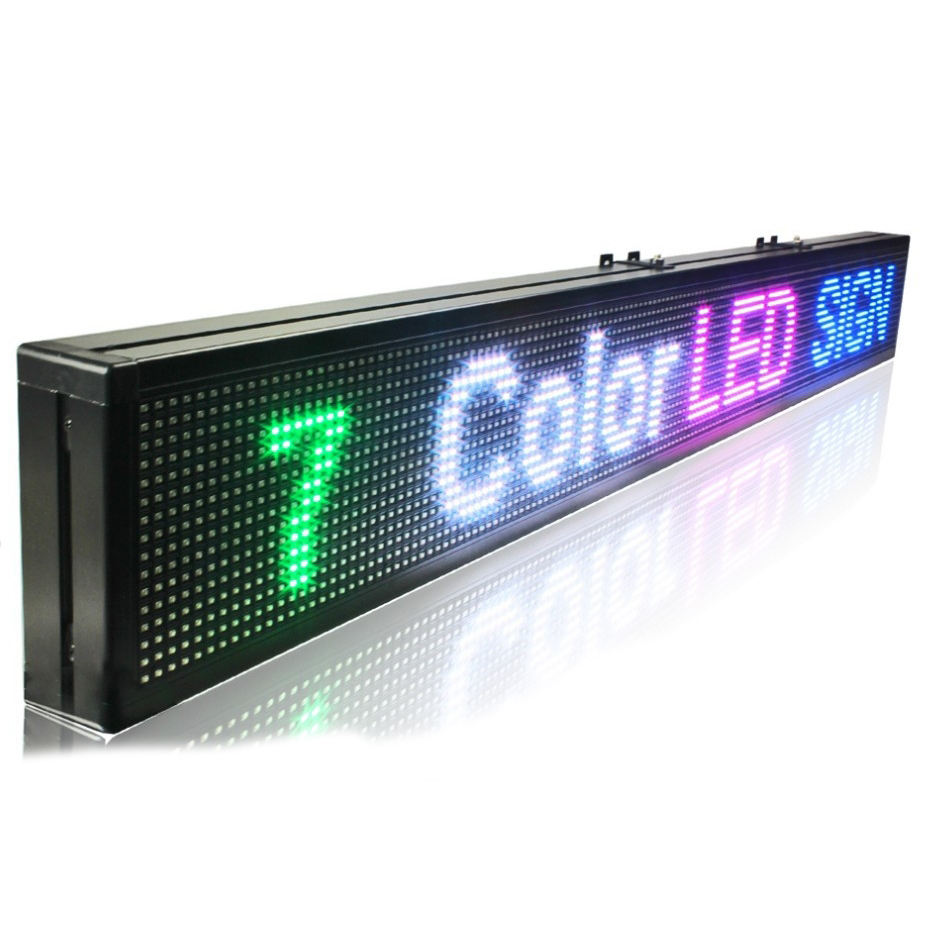 Display Destination Electronic Board P10 Bus Led Sign
