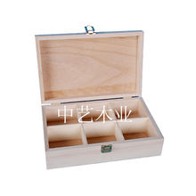 export Caoxian 100% natural pine and plywood tea box wood