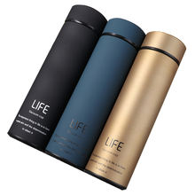 500ml Life Thermos Vacuum Flask Thermos With Filter Stainless Steel 304 Thermal Cup Coffee Mug Thermos Water Bottle