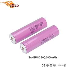 Chinese supplier Authentic 3.7v 3000mah inr18650 30q battery for samsung laptop