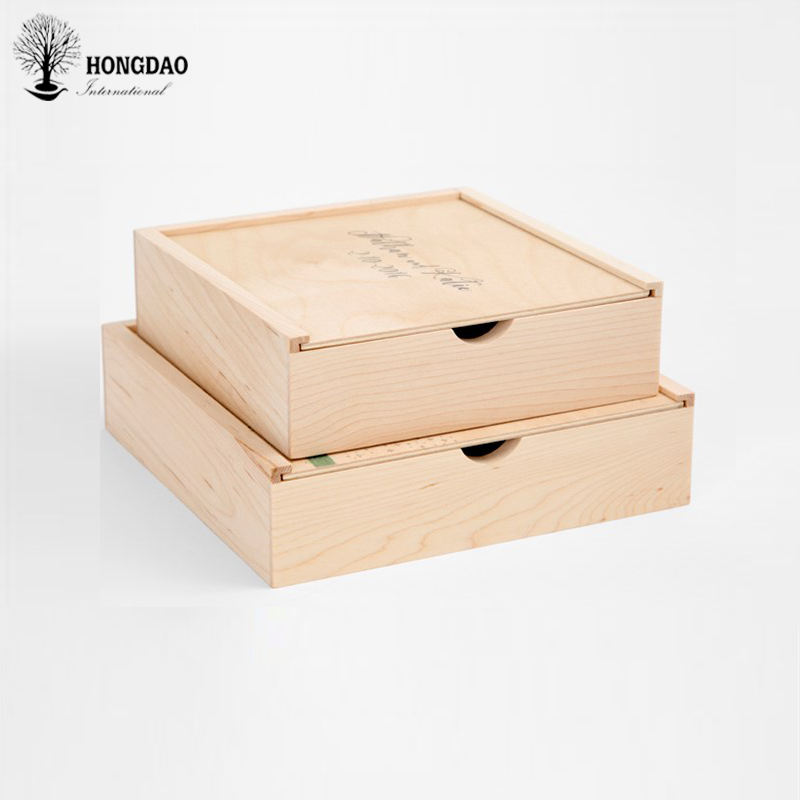 HONGDAO high quality custom made crates plywood boxes for Oysters