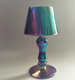 The chromatic desk lamp candlestick of contracted style is used at the dining room candlestick of marriage table vogue