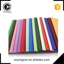High quality rose wrapping colorful corrugated flower crepe paper for packaging