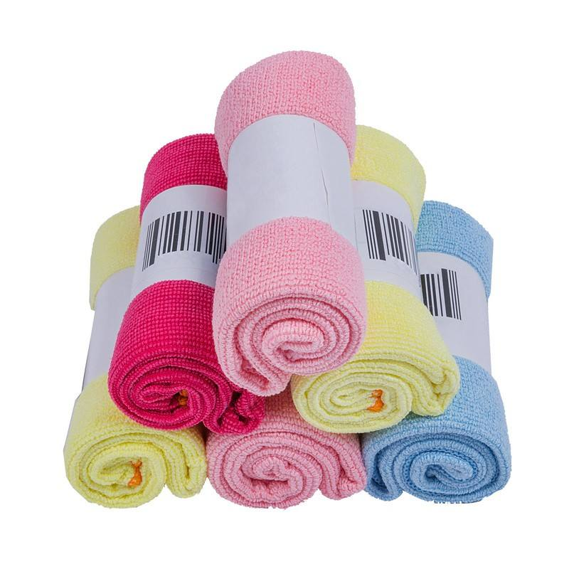 Lot of microfiber cloth cloths towel towels clean cleaning detail micro fiber multi-purpose magic microfiber cloth for cleaning