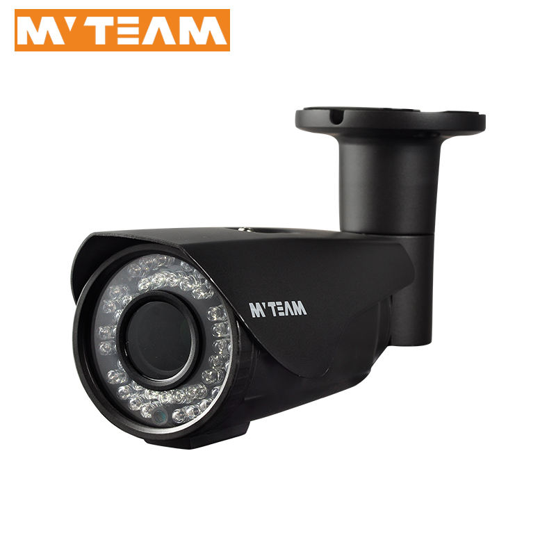 MVTEAM Factory Price 4MP IR Night Vision 2.8-12mm Varifocal Lens IP66 Waterproof Surveillance Video AHD CCTV Camera