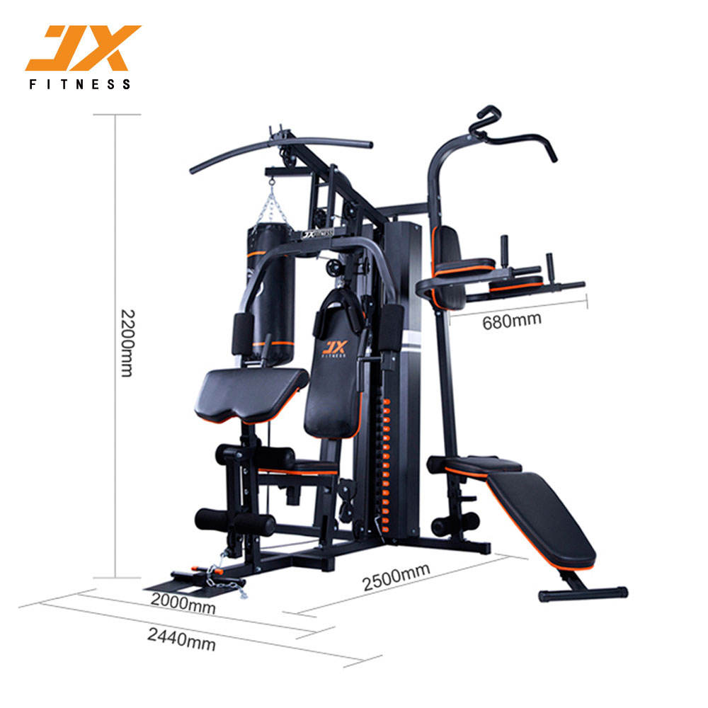 Promotion 4 Station Home Gym With Chip UP Bar