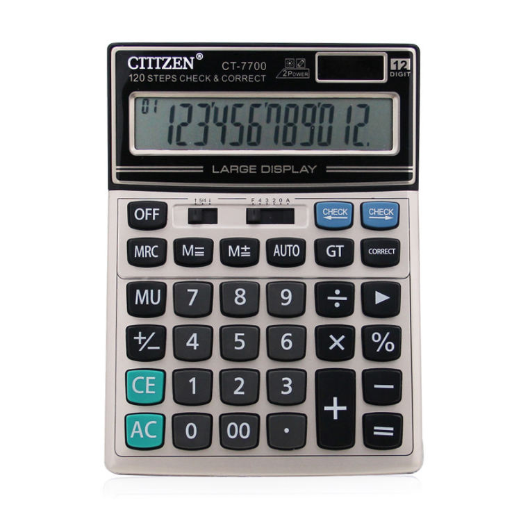 GTTTZEN office electronics custom 16 14 digit calculator 12c 120 steps check calculator