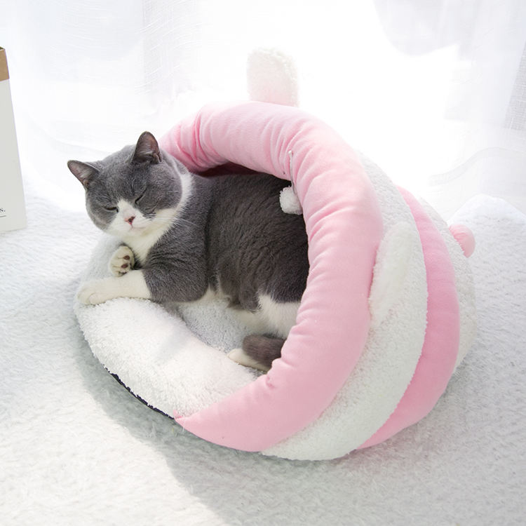 Luxury Swallow Gird Pet Bedding Accessory Warm Dog Beds Large House UK Pet Bed Dog Cat Sofa Bed For Sale