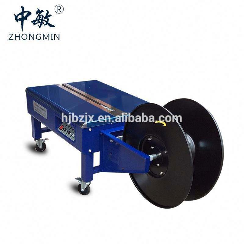Semi Automatic Carton Sealing and Strapping machine