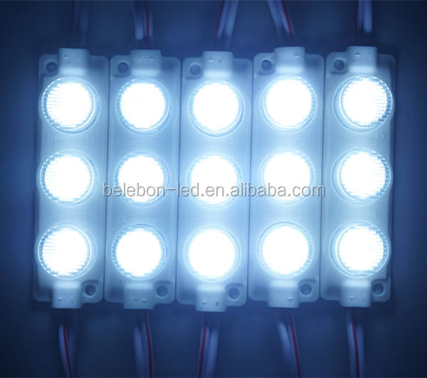 samsung DC 12V 24V 3w 3030 pcb outdoor focused led module with 45 degree lens for led channel letter sign