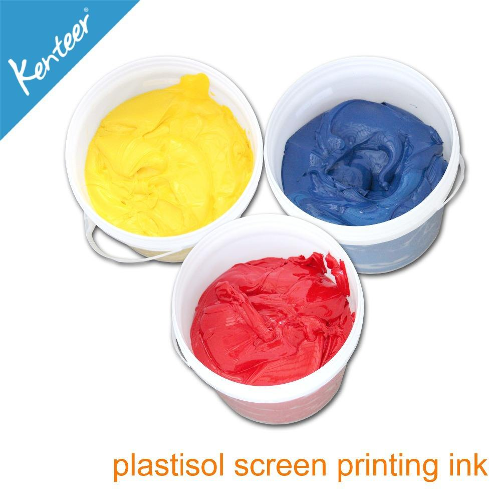Kenteer liquid printing ink for screen printing use