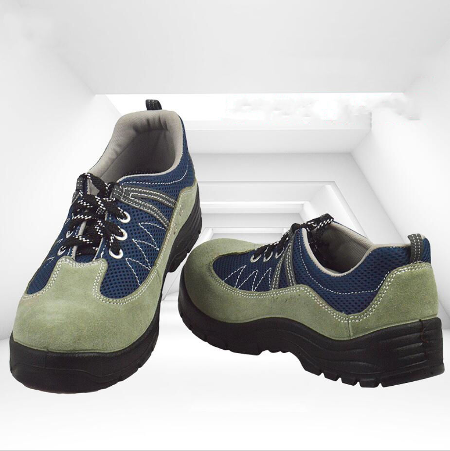 Professional industrial breathable steel toe safety insulated shoes FW-JY0007