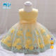 Hot Selling Pretty Baby Frock 12 Month 1 Year Old Girl Clothes First Birthday Cute Flower Party Dress L1845XZ