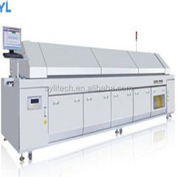 SYL-R8800 reflow oven soldering machine for manufacturer of PCB Assemblies