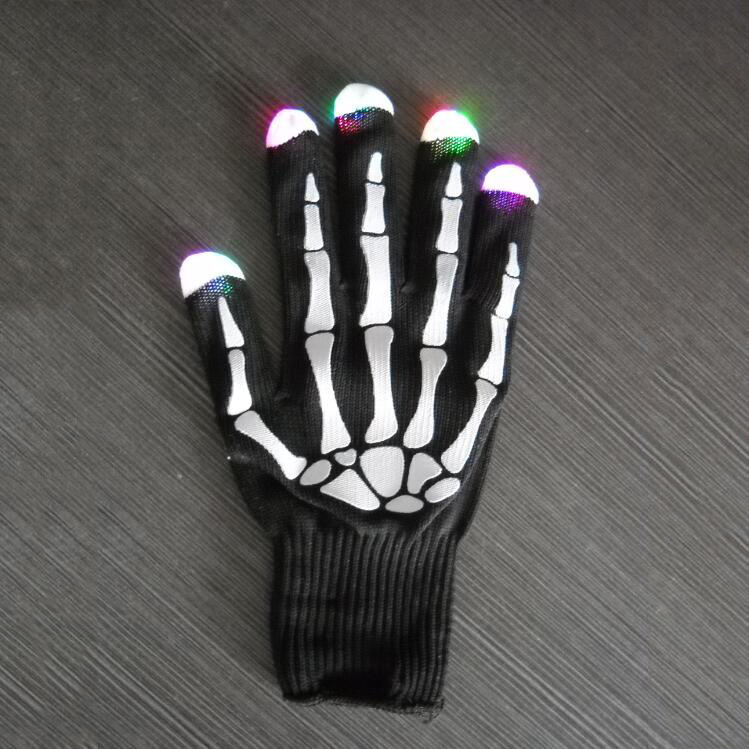 Easter Day Light Up Gloves Adult Custom Logo Led Gloves